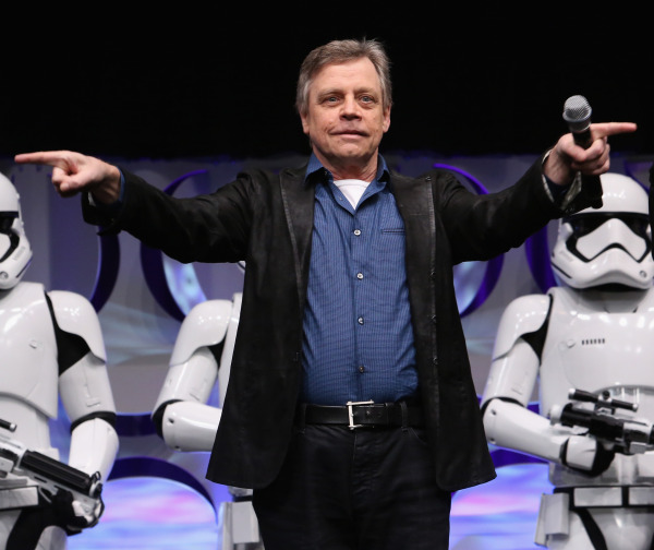 Actor Mark Hamill at the opening of Star Wars Celebration in Anaheim on April 16, 2015. ( Jesse Grant / Getty / Disney)