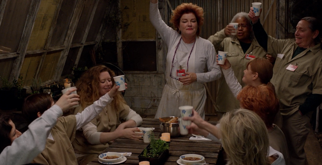 Orange is the New Black - Red and Family