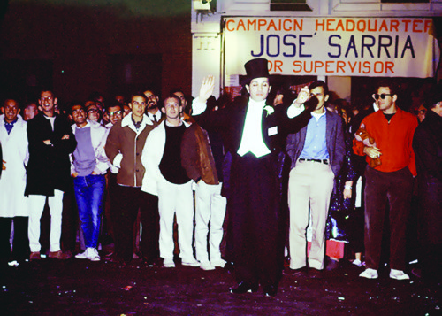 Remembering Jose Julio Sarria: 1st gay person to run for office