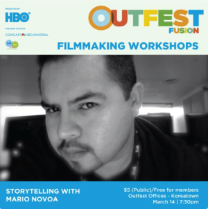 Mario Novoa Filmmaking Workshop Outfest